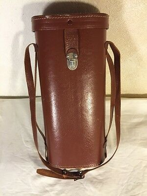 Rare Hard To Find Vintage United Binoculars Leather Case Made in Japan Tall 14""