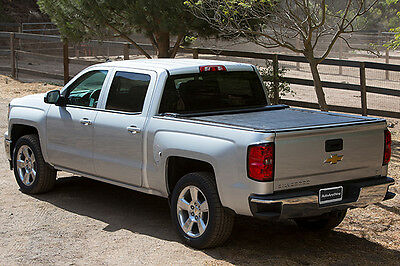 "Pace Edwards Switchblade Retractable Tonneau Cover 04-18 Chevy GMC Crew 5'8"" Bed"