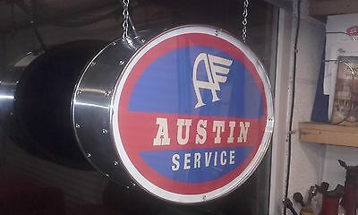 Austin,morris,A35,xmas,mens,gift,classic,mancave,lightup sign,garage,workshop