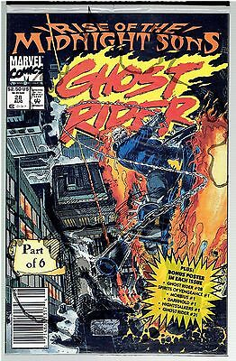 Ghost Rider (1990) #28 Rise of The Midnight Sons Pt 1 Sealed in Polybag