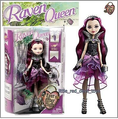 NEW Ever After High Rebels RAVEN QUEEN Daughter of The Evil Queen Purple Black