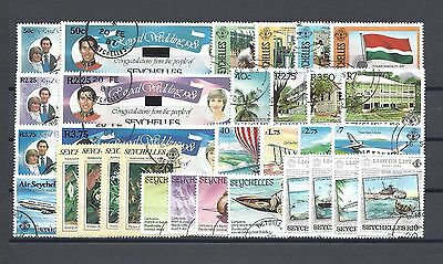 SEYCHELLES 1983-84 Fine Used Commemorative Sets Cat £31.40