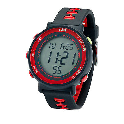 Gill Race Sailing Watch - Black/Red