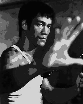 Awesome Bruce Lee Paint By Number Art Kit