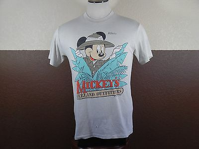 Vintage Mickey Mouse Overland Outfitters Safari Atlanta T-shirt Beige