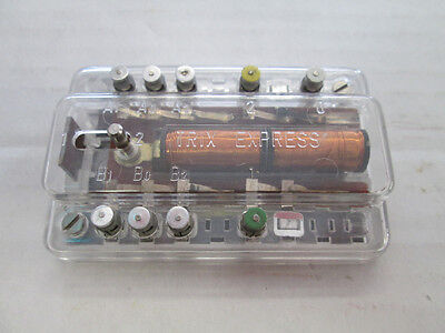 Postage Stamp Trains (Trix Express) Relay with 2 Circuit Contacts