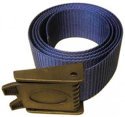 Storm 60in Weight Belt with Plastic Buckle for Scuba Divers and Freediving- Blue