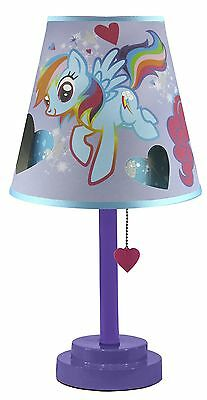 My Little Pony Table Lamp with Die Cut Shade New
