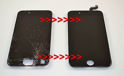 iPhone 6s Cracked Glass Screen Repair Replacement Refurbish Service OEM