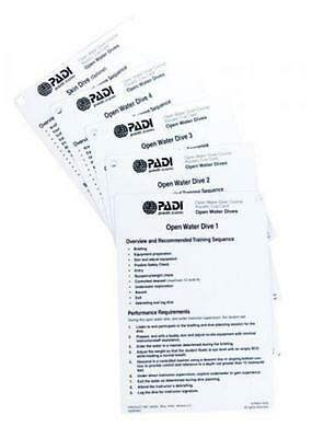 PADI Openwater Cue Cards