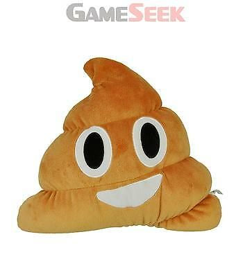 Necknapperz Emoji Poo Soft Toy (Brown) - Toys Brand New Free Delivery