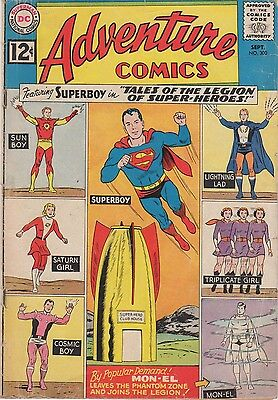 1962 Adventure Comics Tales of the Legion of Super-Hereos Issue #300