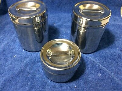 Vollrath Canister Stainless Steel Set  Container