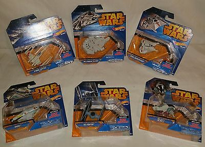 NEW Hot Wheels Star Wars Starship (6-Pack) New (CLD99)