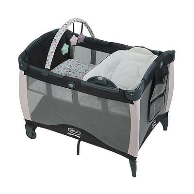 Graco Pack 'n Play Playard with Reversible Newborn Napper Station & C - Tile