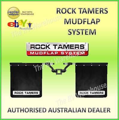 ROCK TAMERS Mudflap System 4WD FREE AUTO SAFETY KIT BOAT Truck Car Caravan 4x4 A