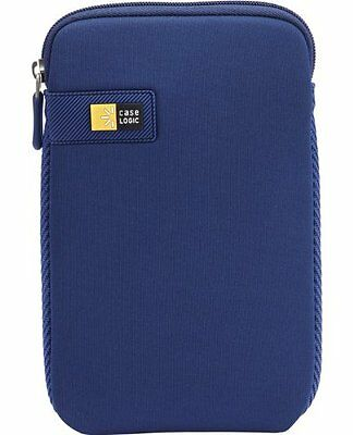 "Case-Logic LAPST-107DB Sleeve in Neoprene per Tablet da 7"", Blu"