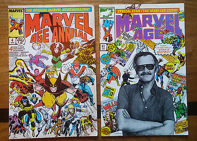 Marvel Age Lot of 36 comic includes Longshot, Damage Control, Stan Lee issues