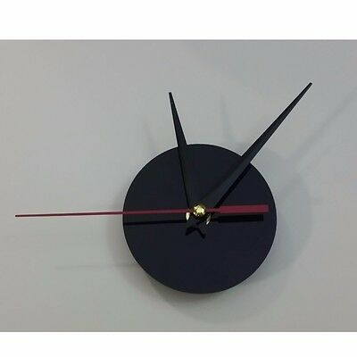 Clock Mechanism Quartz Quiet Movement Replacement Sweep Silent Round With Hands