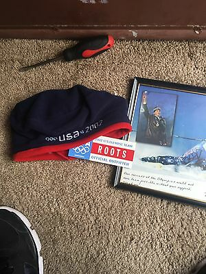 BODE MILLER signed 8x10 World Cup Alpine Ski Racer Olympics USA And Hat