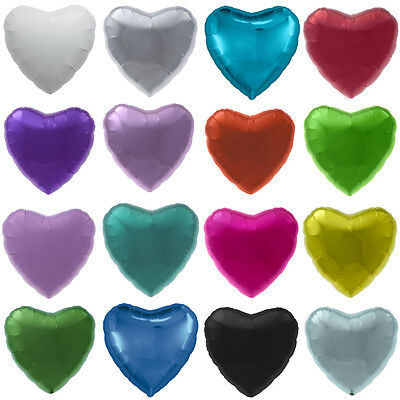 "18"" Heart Shaped Balloons Birthday Party Wedding Decorations Helium Foil Baloons"