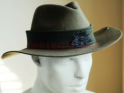 WW1 1st Australian Imperial Force 3rd Division Slouch Hat 55-56