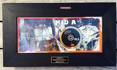48h ONLY: RADIOHEAD Mega Rare French GOLD  Award KID A Certified Snep Morineau