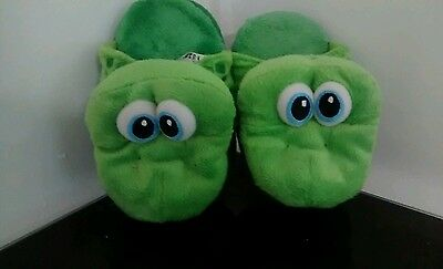 childrens frog slippers size xs