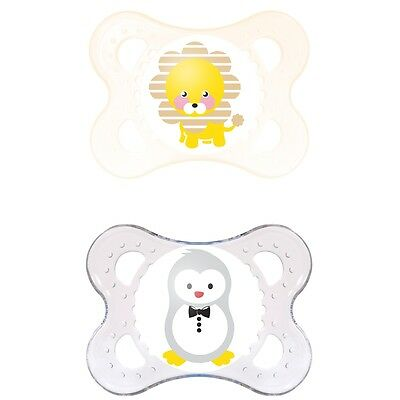 MAM Original Soother 0 months + (2 Pack)