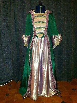 Georgian style gown, skirt and stomacher. Age 8-10.