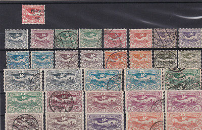 Upper Silesia 1920 Stamps Collection Mounted Mint & Used  . Ref 4343