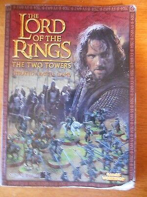 The Two Towers LoTR SBG sourcebook softcover hobbit games workshop lord of the r