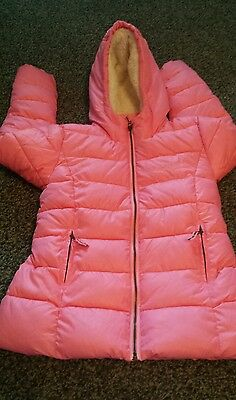 Next brand new coat girls size 11-12 year pink colour very nice