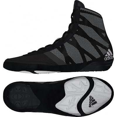 Adidas Pretereo III Black Boxing Boots Wrestling Shoes Trainers