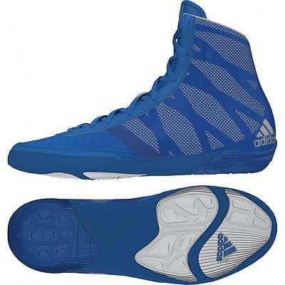 Adidas Pretereo III Blue Boxing Boots Wrestling Shoes Trainers