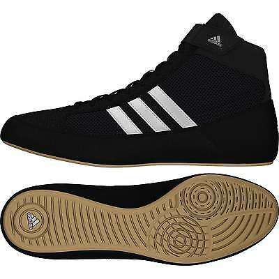 Adidas Havoc Boxing Boots Wrestling - Black Kids Shoes Trainers