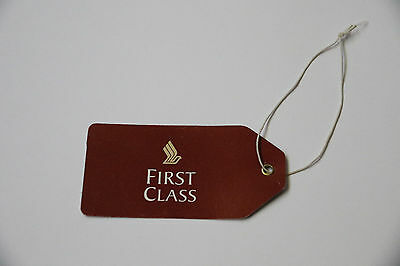 Singapore Airlines First Class Luggage Tag New