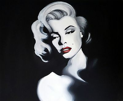 Marilyn Monroe Portrait Canvas Acrylic Painting