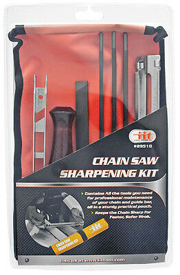 ChainSaw Sharpening Kit Chain saw File Tool Set Guide Bar File With Instructions