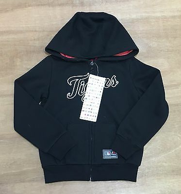 Detroit Tigers - Girls 4-5 Years Old - MLB Full Zip UP Hooded Jumper - New