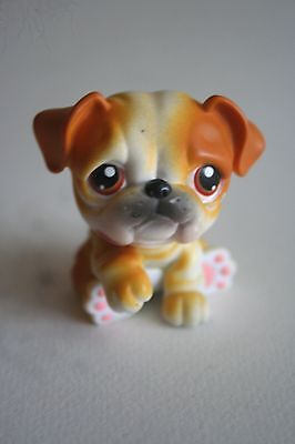 A Baby Pet Boxer Dog from the Littlest Pet Shop