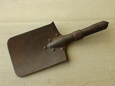 Russian Army WWI Relic Soldiers Small Trench Shovel ( Dated 1915 )