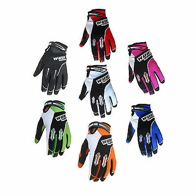 Wulfsport Trials Gloves Adult Stratos MX Motocross BMX Mountain Quad Pit Bike
