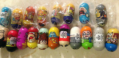 Mighty Beanz Lot Containing 19 Mighty Beanz From Series 1 and 2