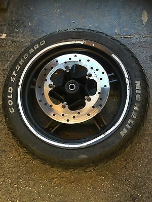Gilera DNA 125 180 Front Wheel Complete With Disk And Good Michelin Tyre