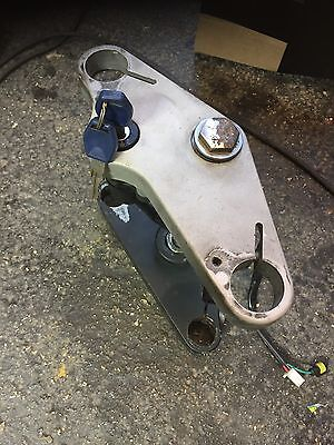 Gilera DNA 125 180 Front Yokes Complete With Ignition And Key