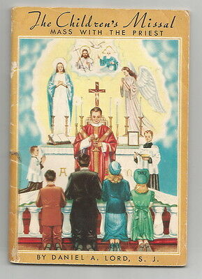 1954 The Children's Missal - Mass with the Priest