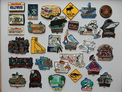 One Selected Souvenir Fridge Magnet from the United States USA