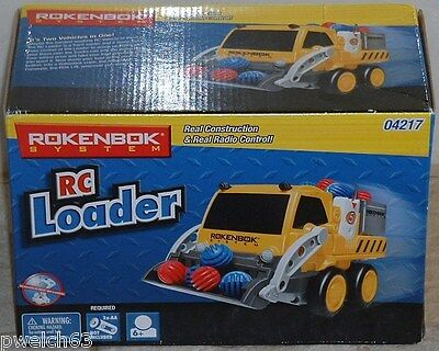 Rokenbok RC Classic Loader New in Box Vehicle Legacy working headlights