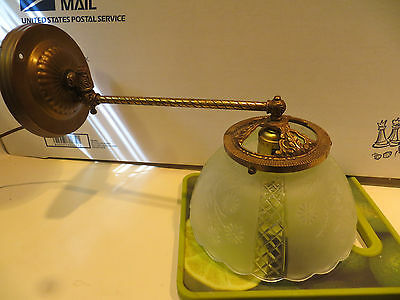 Antique  Brass Wall Light Sconce Light Fixture Gas